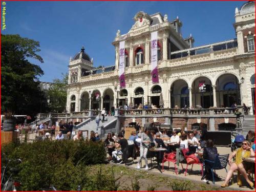 May 15 th, 17.00 - 19.00 in Vondel CS, Vondelpark 3 in Amsterdam.