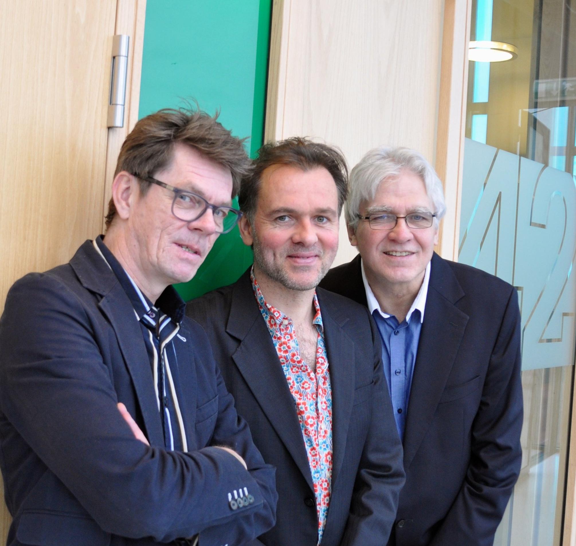 Erik Robaard en Joost Kesselaar, Berend van den Berg