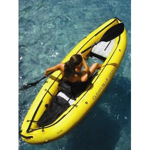 Inflatable Clear Bottom Person Kayak