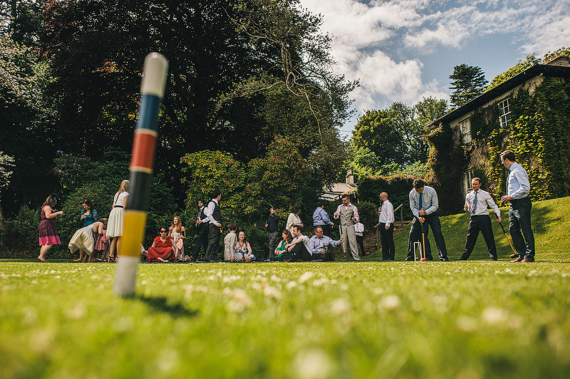 croquet wedding