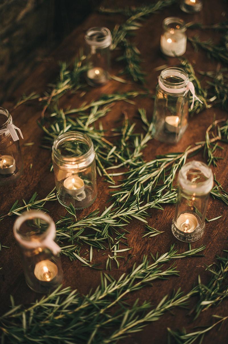 rosemary wedding decoration