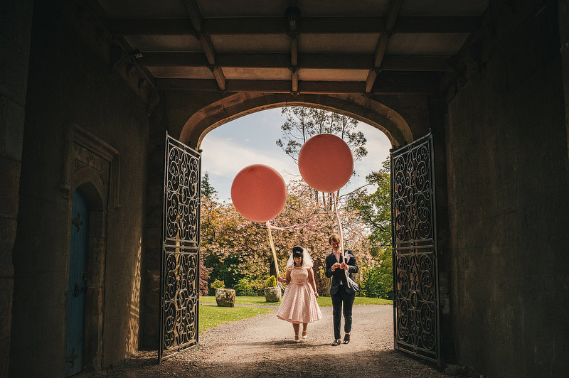 giant balloons wedding