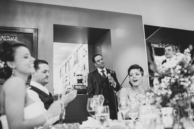 Deanes restaurant wedding