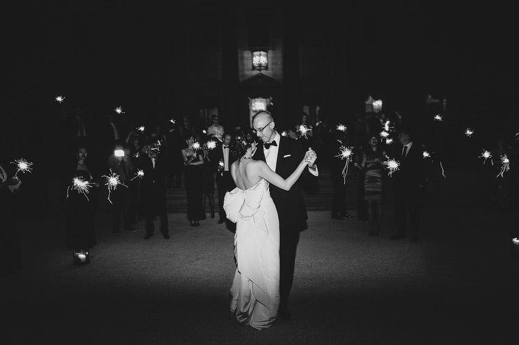 midnight wedding dance