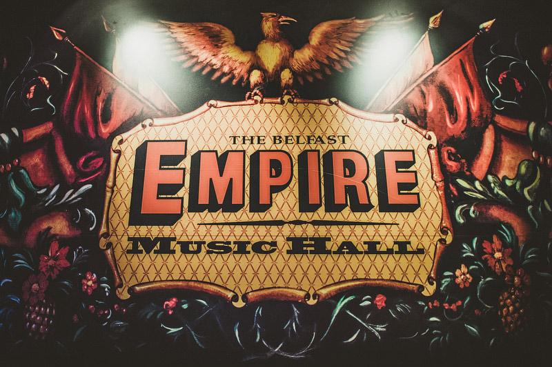 empire music hall wedding belfast