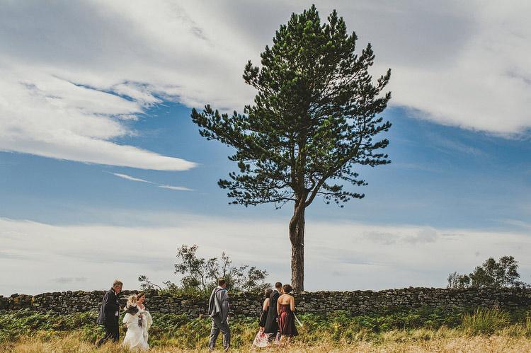 wedding on the moors