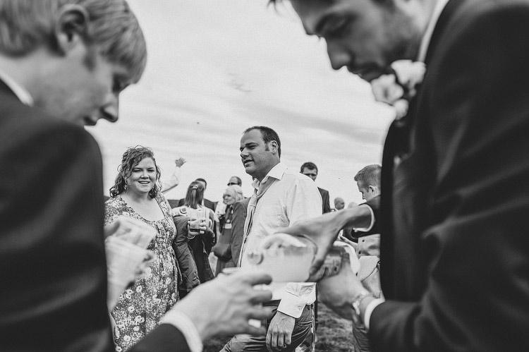 North York moors wedding on Roseberry Topping