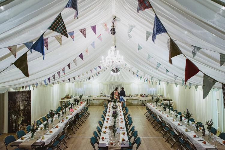wedding in english village hall