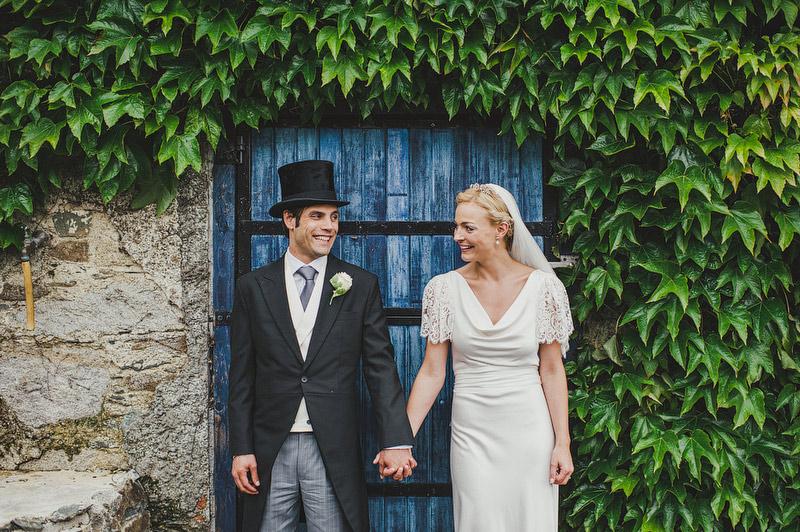 backyard garden wedding in Ireland