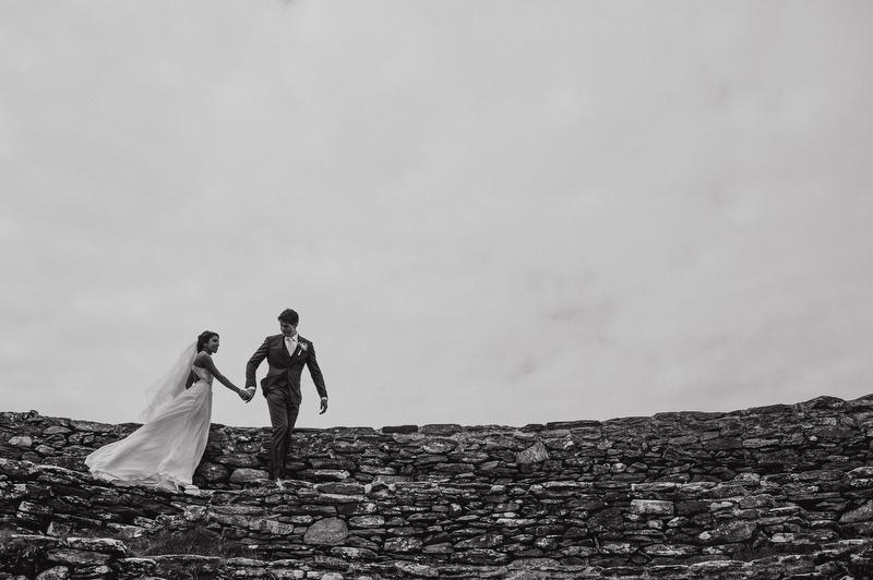 Greenan Fort Wedding photography