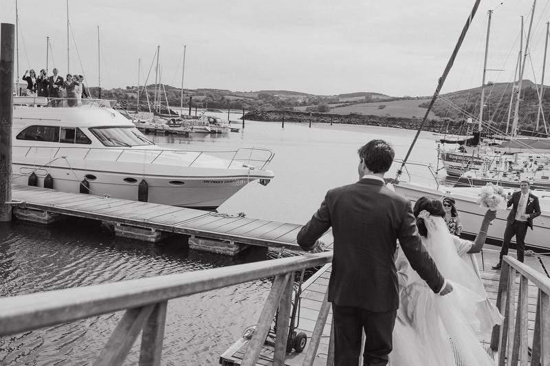 boat wedding ireland