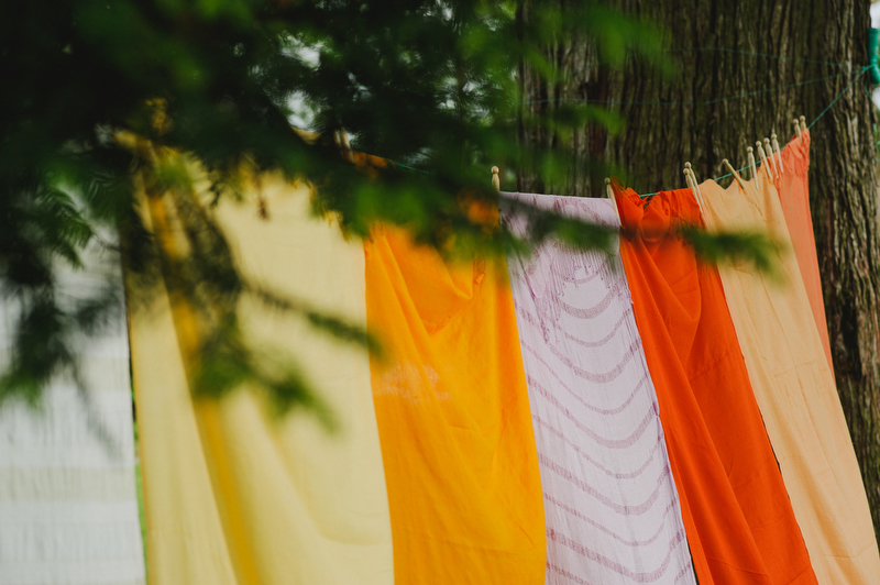 wedding ideas colour backdrop
