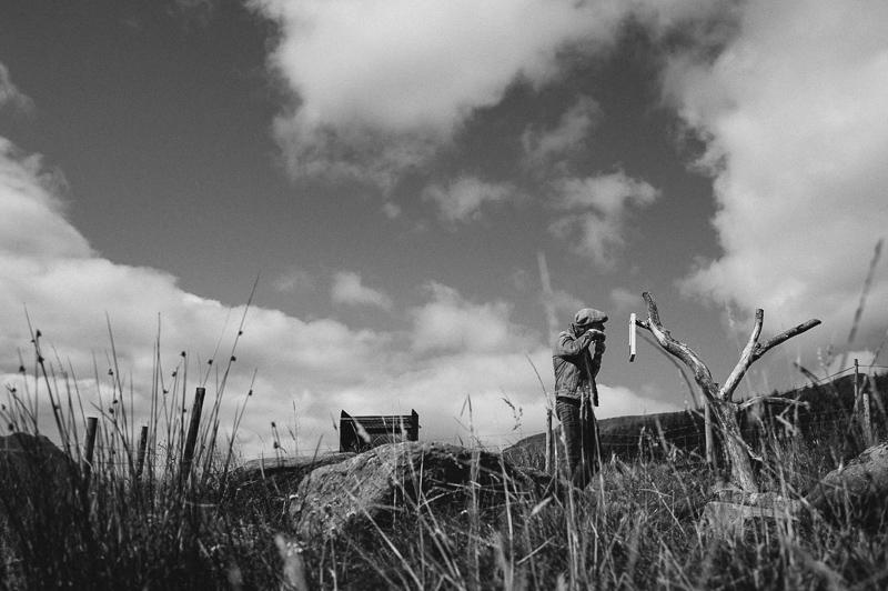 scottish highland elopement