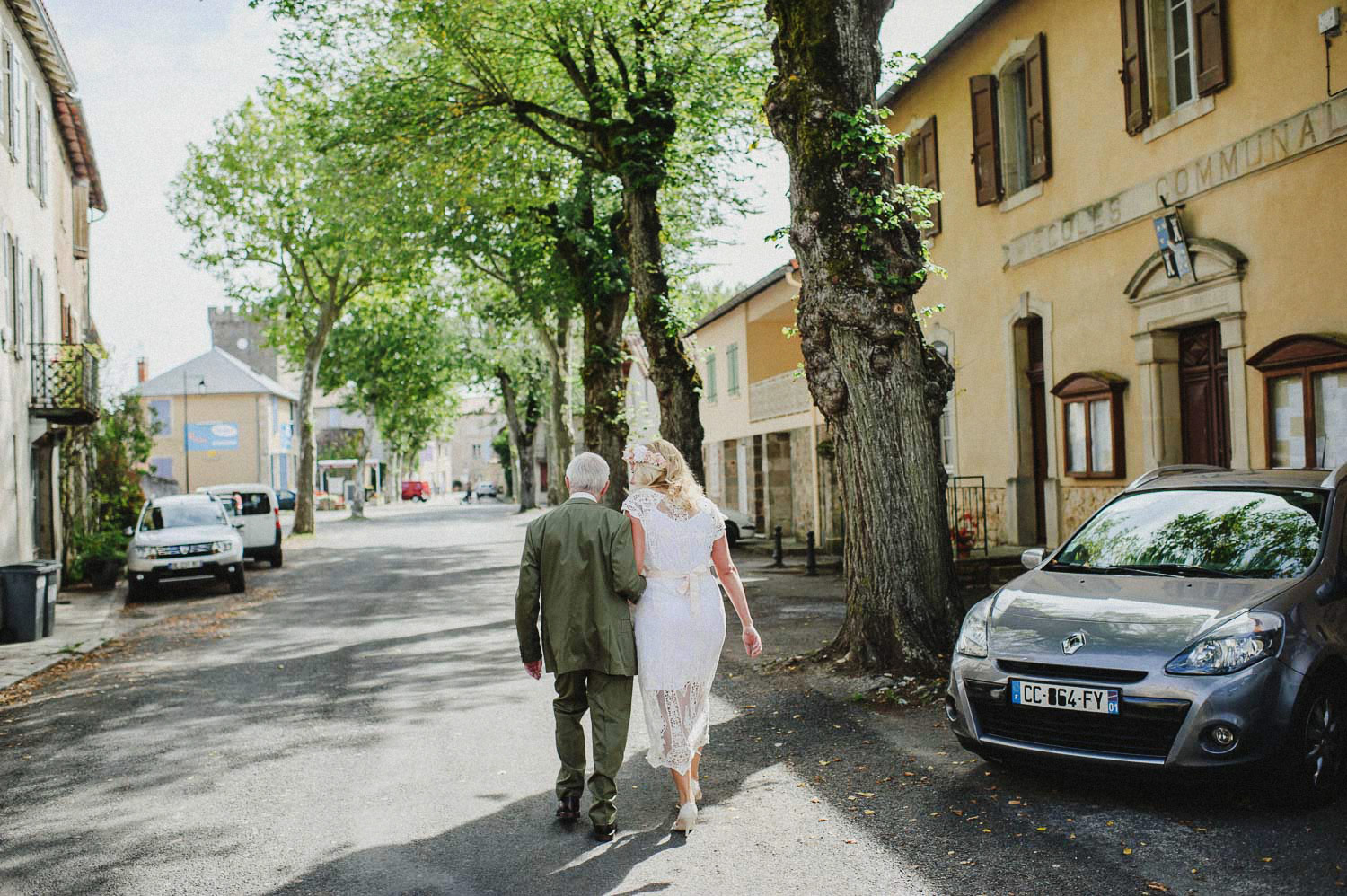 wedding in a french village