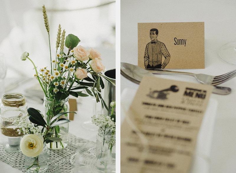 40s 50s wedding theme