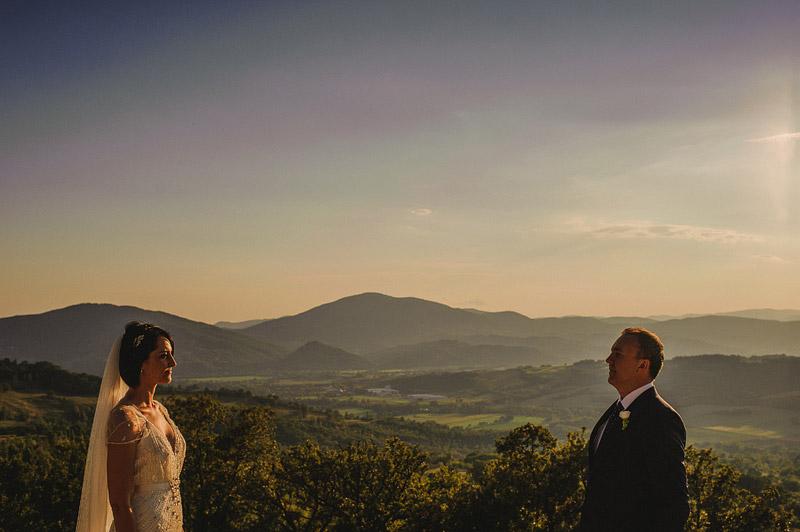 italy wedding photography sunset