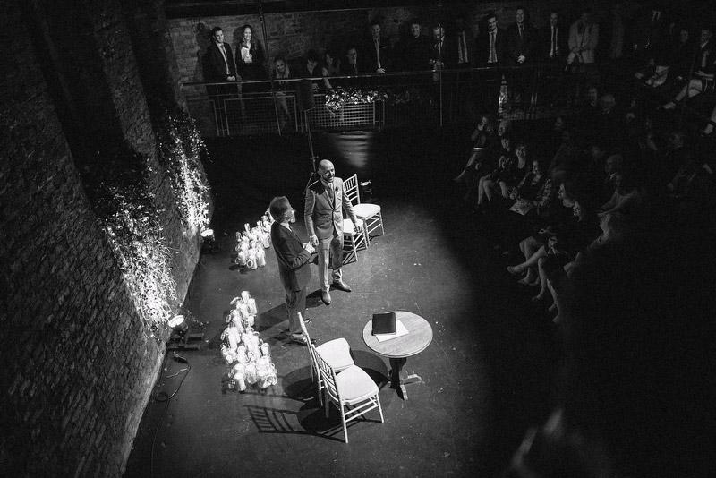 theatre wedding low light