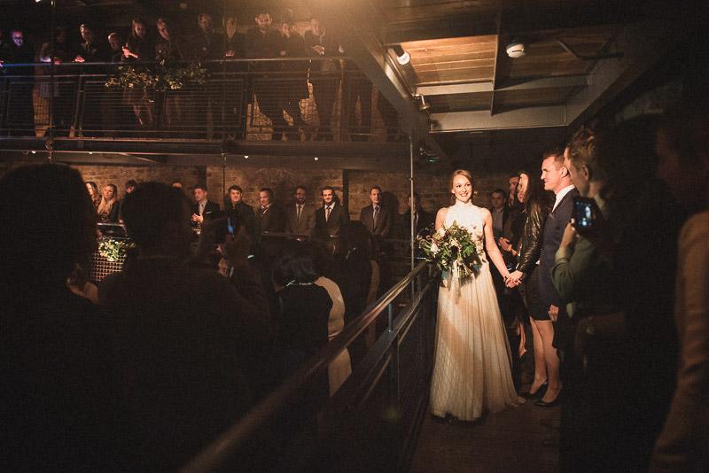 Smock Alley Theatre Ceremony Wedding