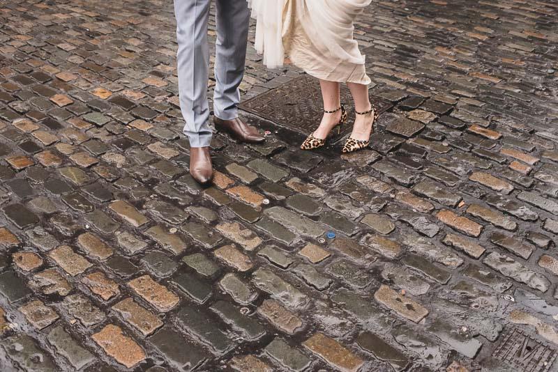 dublin cobblestones wedding