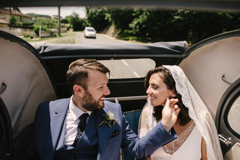 Citroen wedding car French