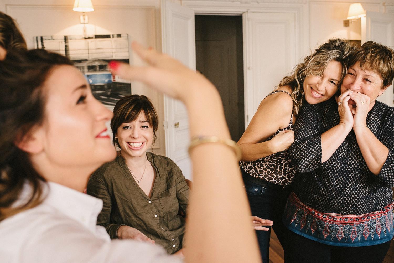 paris documentary reportage wedding