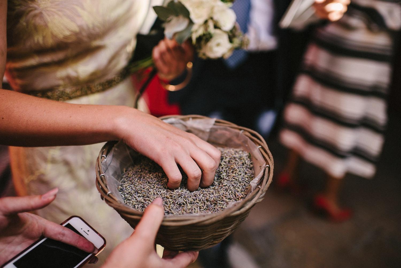 lavender wedding paris