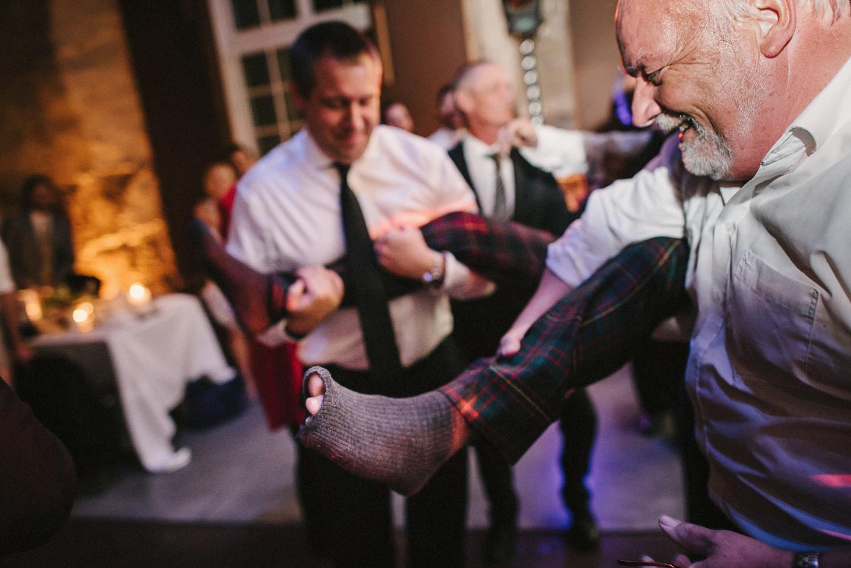 cutting grooms socks ritual