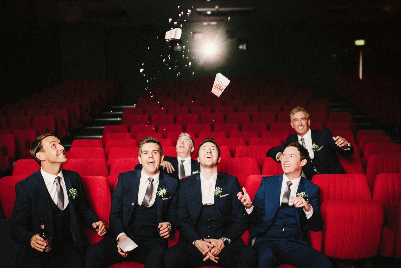 cinema theatre wedding