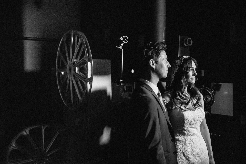 Wedding in a cinema