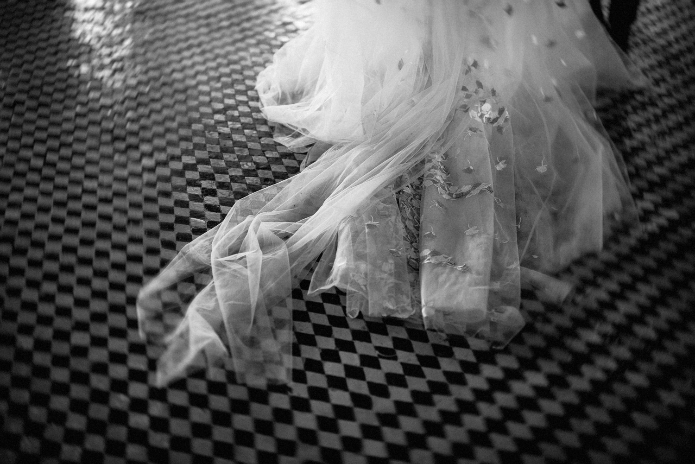 Razan Alazzouni wedding dress