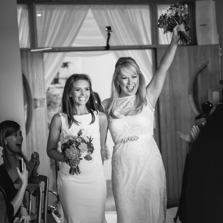 Kelly & Jenny Wedding Wineport Lodge