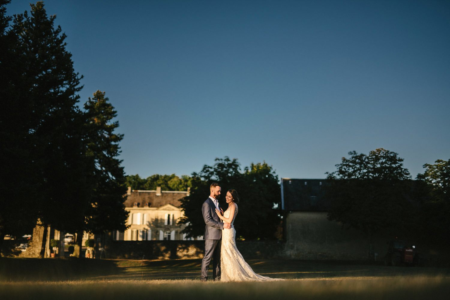 castelnaud dordogne wedding photo