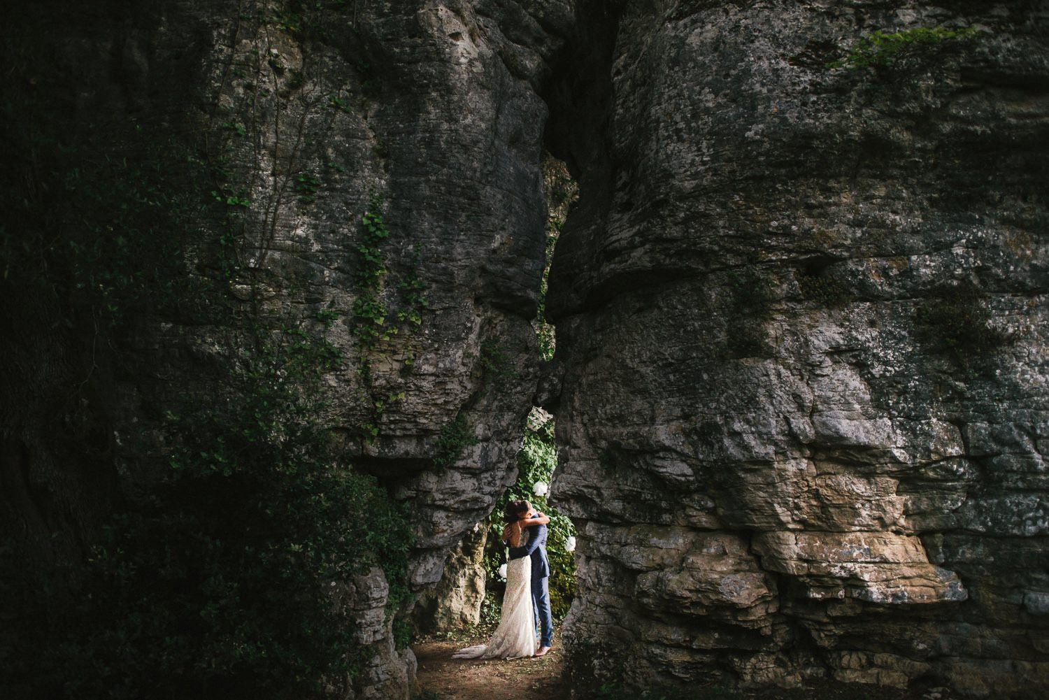 grotto wedding france
