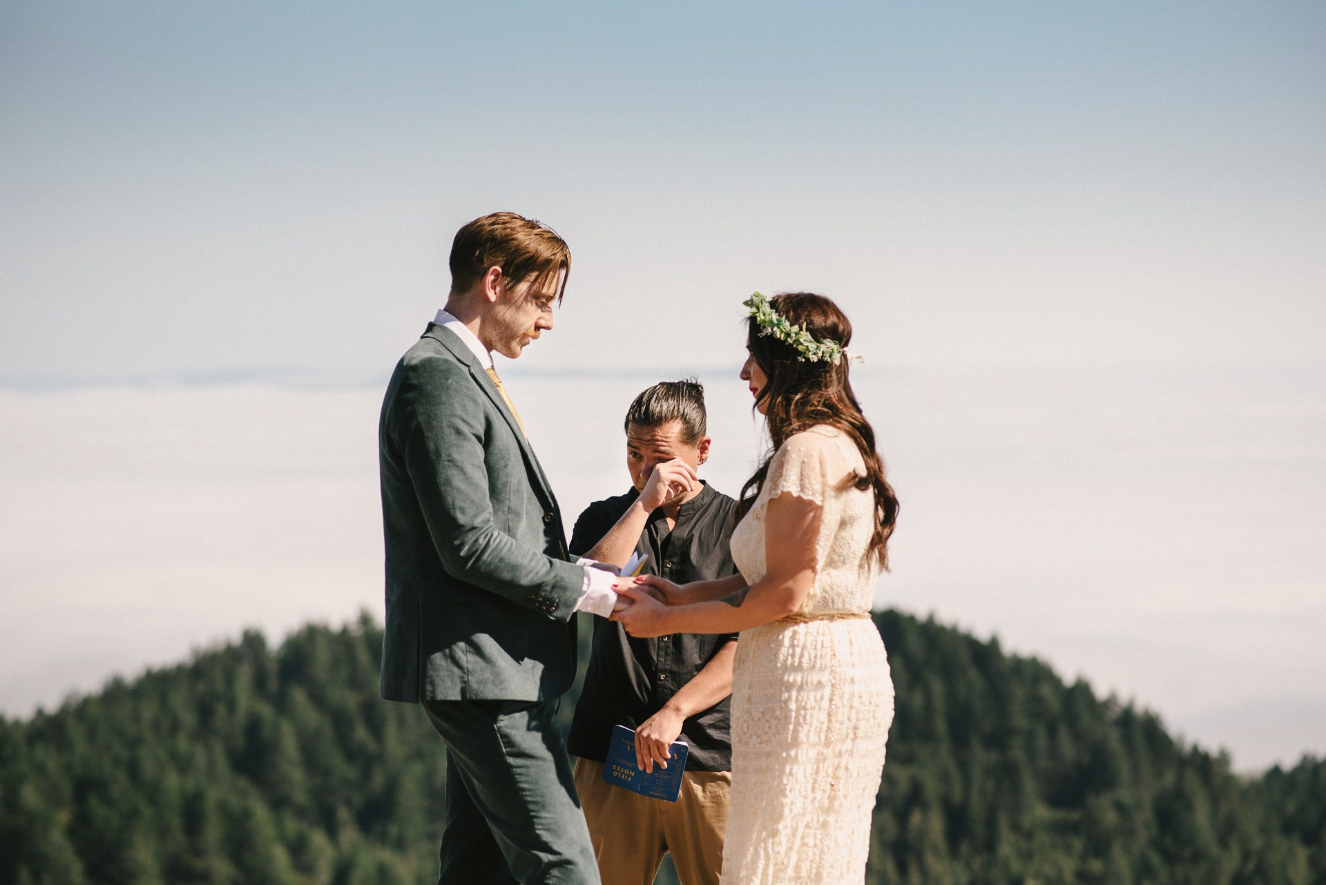 Mountain Wedding Tamalpais California