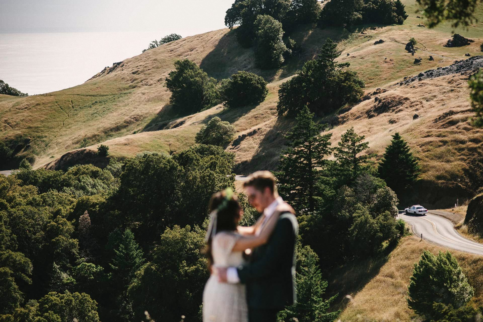 Mount Tamalpais Wedding Hang Site