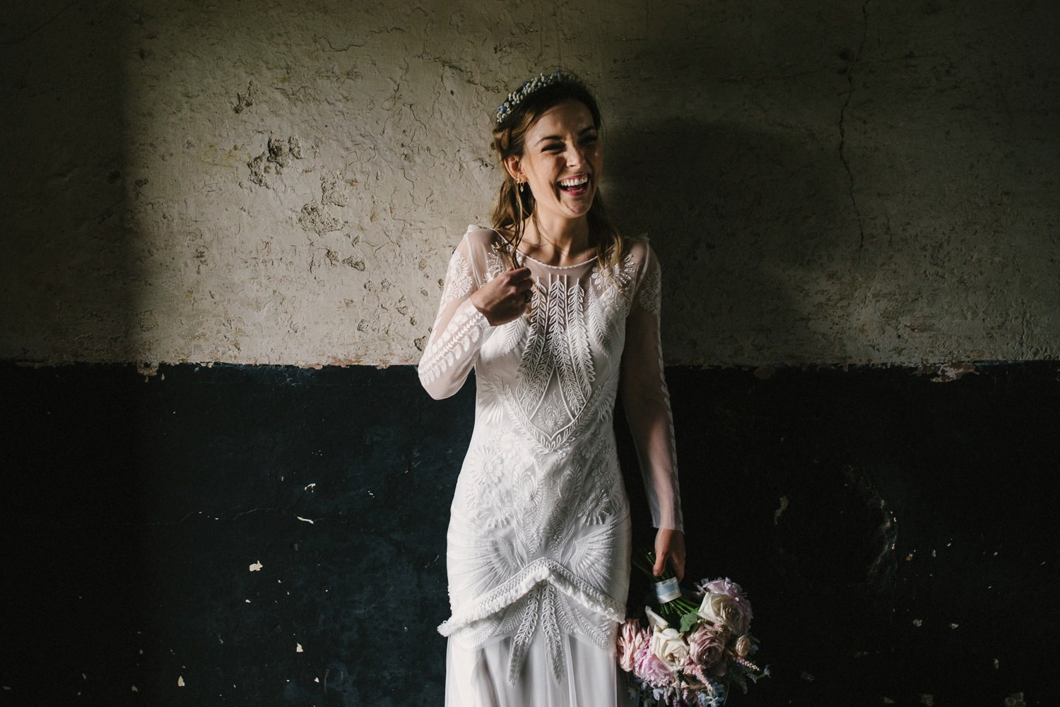 luca gown dress by Rue De Seine Bridal