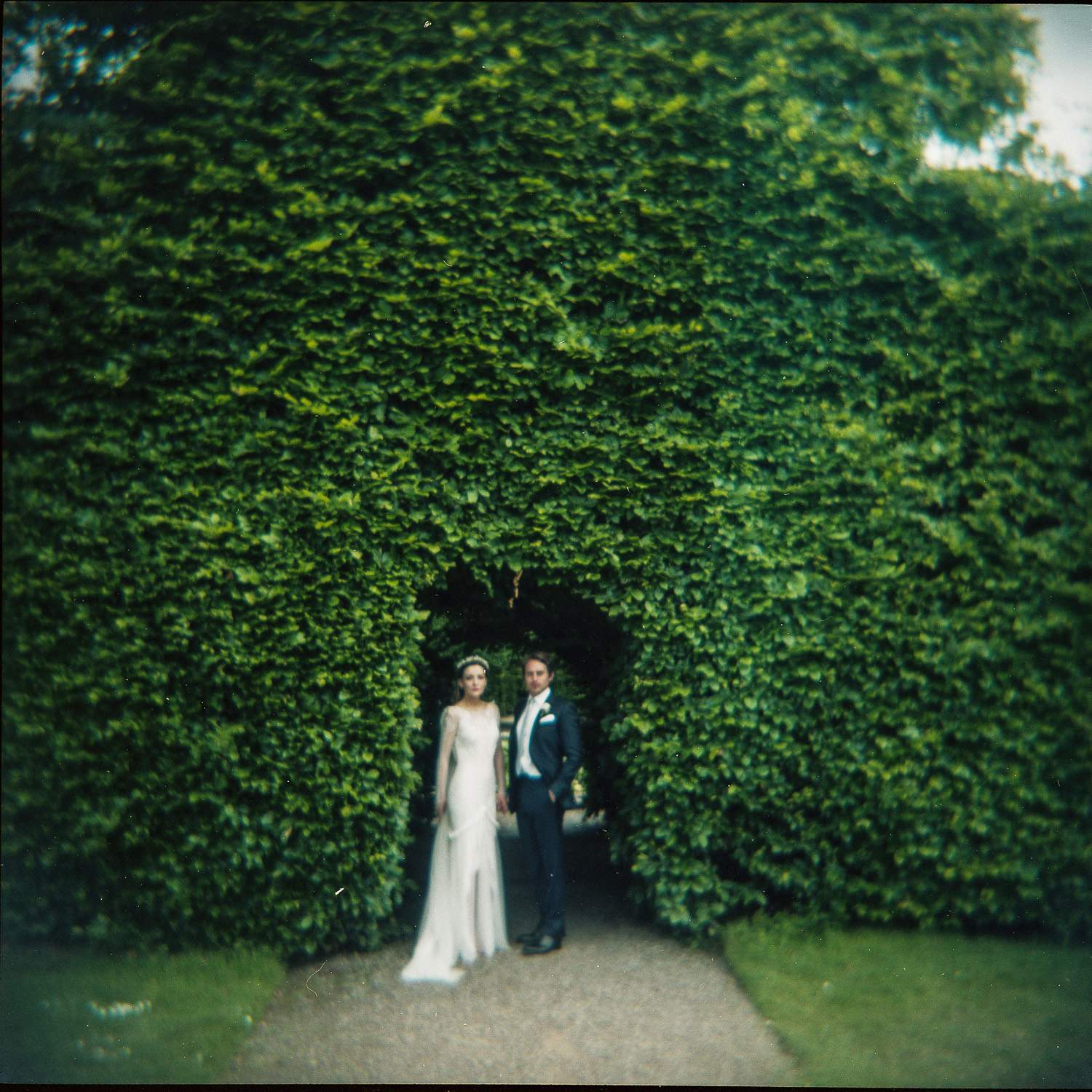holga film wedding photographer