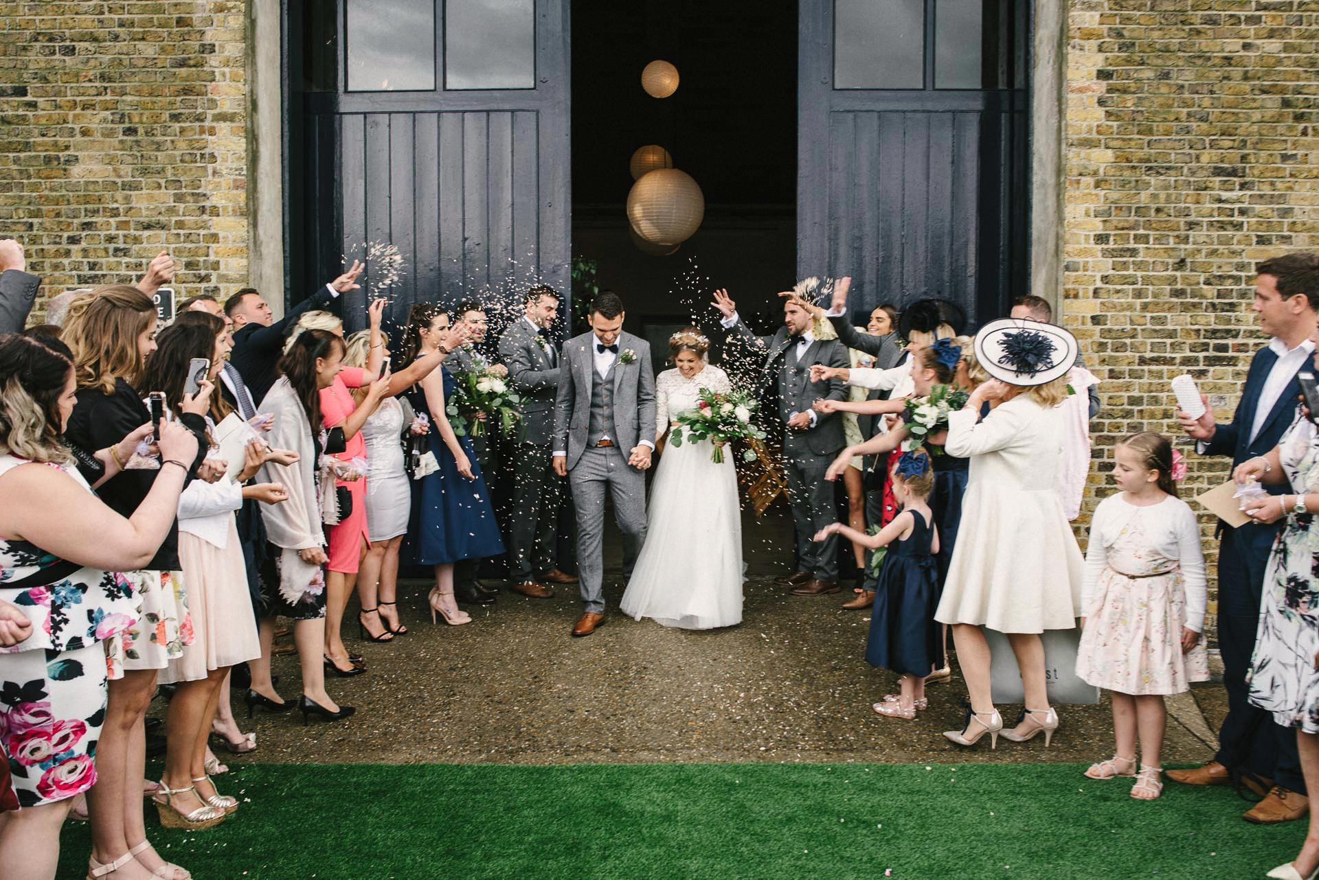 Trinity Buoy Wharf Wedding