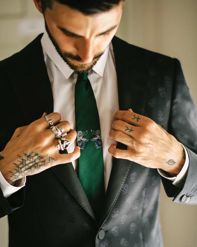 alexander mcqueen wedding suit