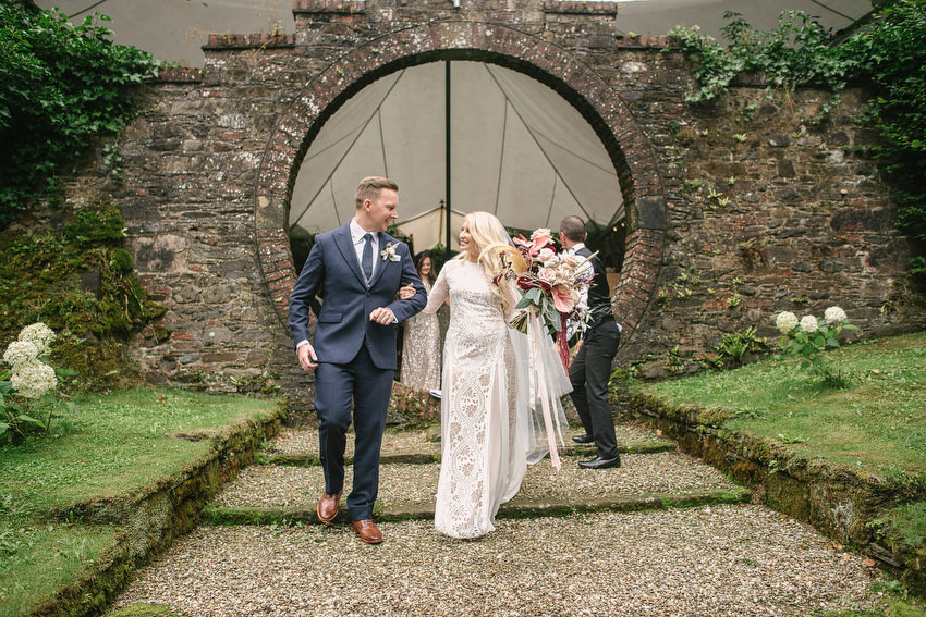 Drenagh Moon Garden Wedding