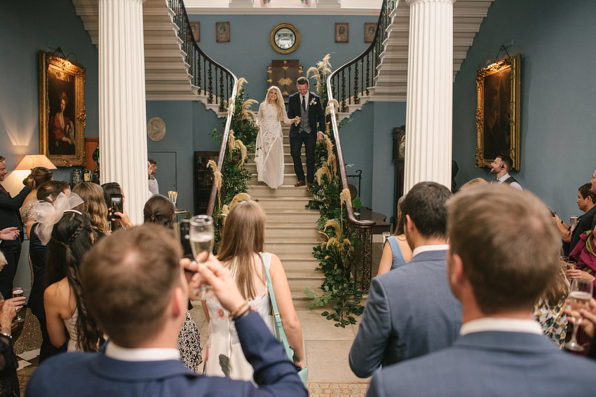 stairs at Drenagh House Weddings