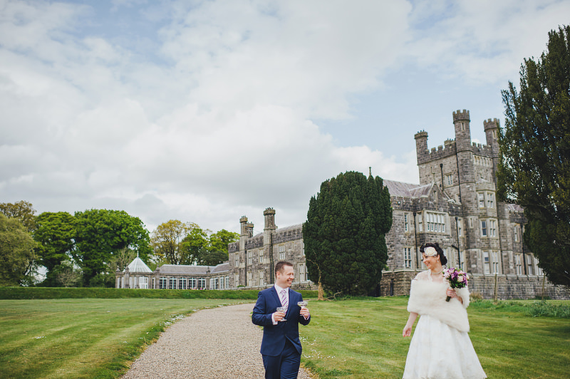 Wedding at Crom Castle Estate