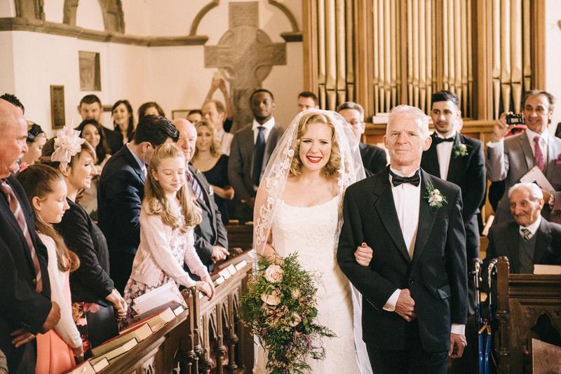 Clandeboye Estate Chapel Wedding Ceremony