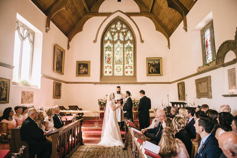 Clandeboye Estate private chapel wedding ceremony