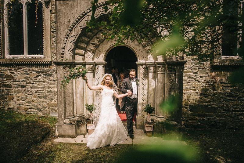 Clandeboye Estate Stone Chapel Wedding