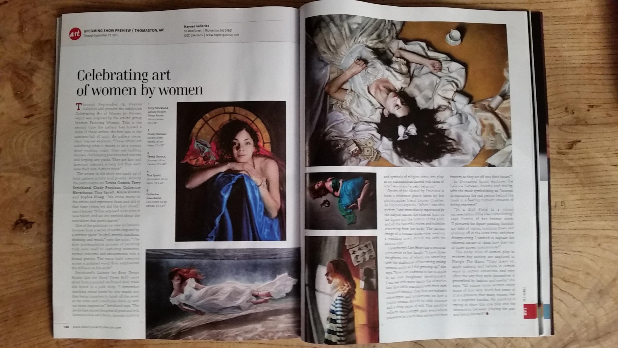 American Art Collector Magazine.