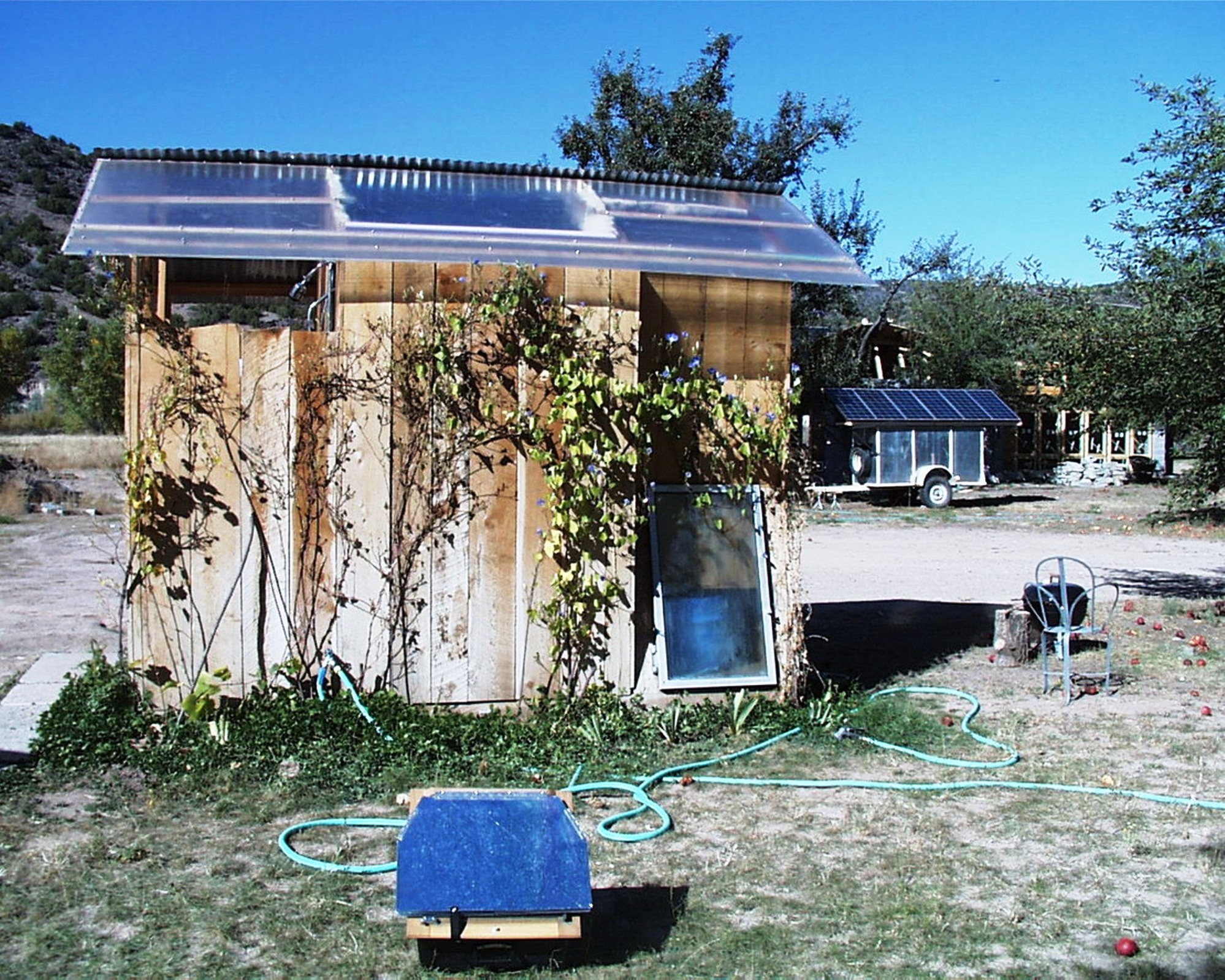 The Solar bathouse