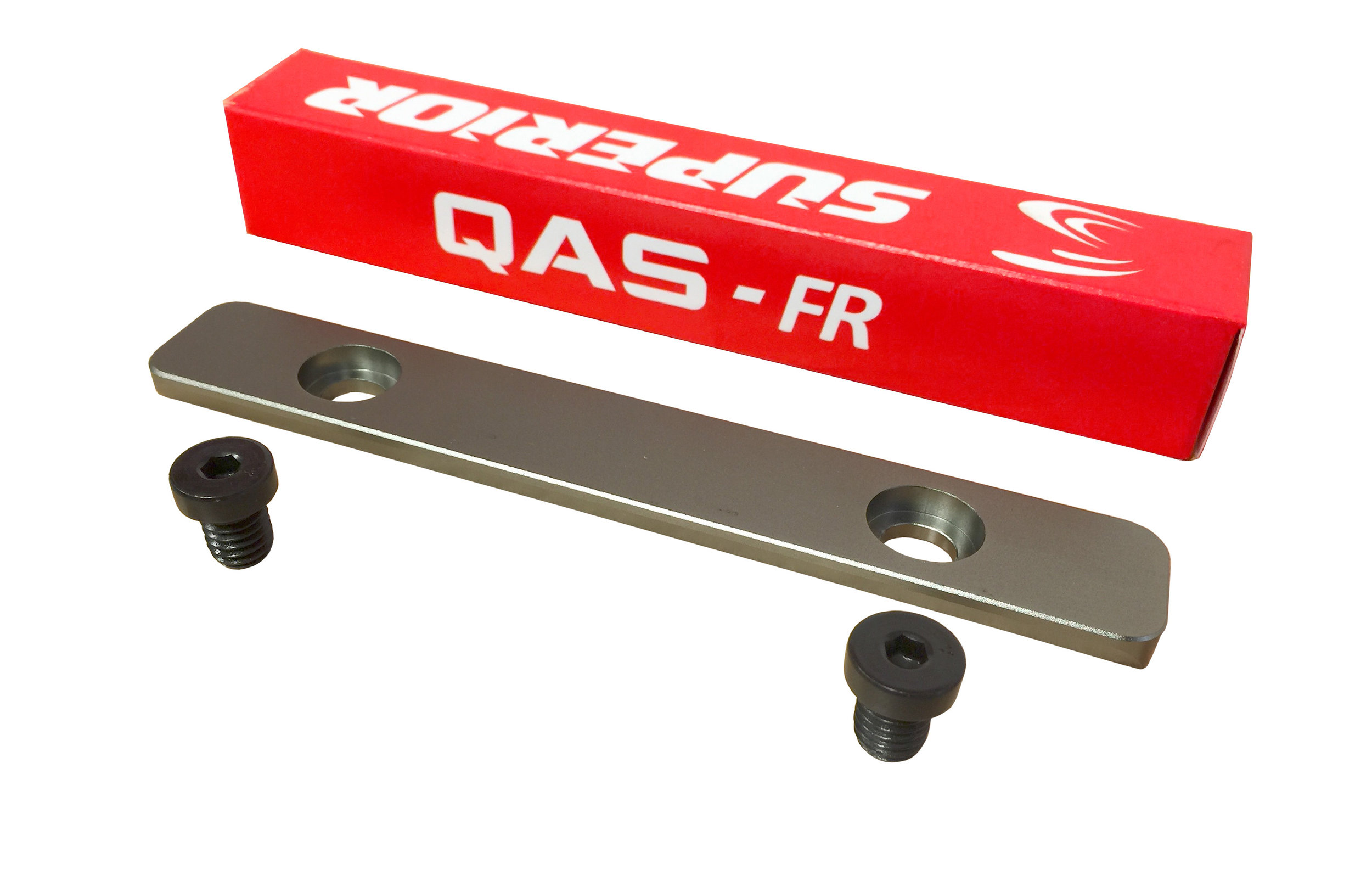 QAS-FR bracket can be used on a fresno trowel or the Wagman speed float.
