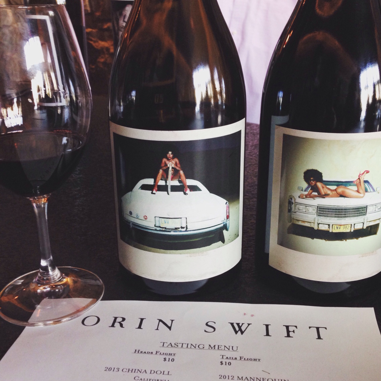 "AND THE AWARD FOR SEXIEST LABEL GOES TO... ORIN SWIFT ""MACHETE"""