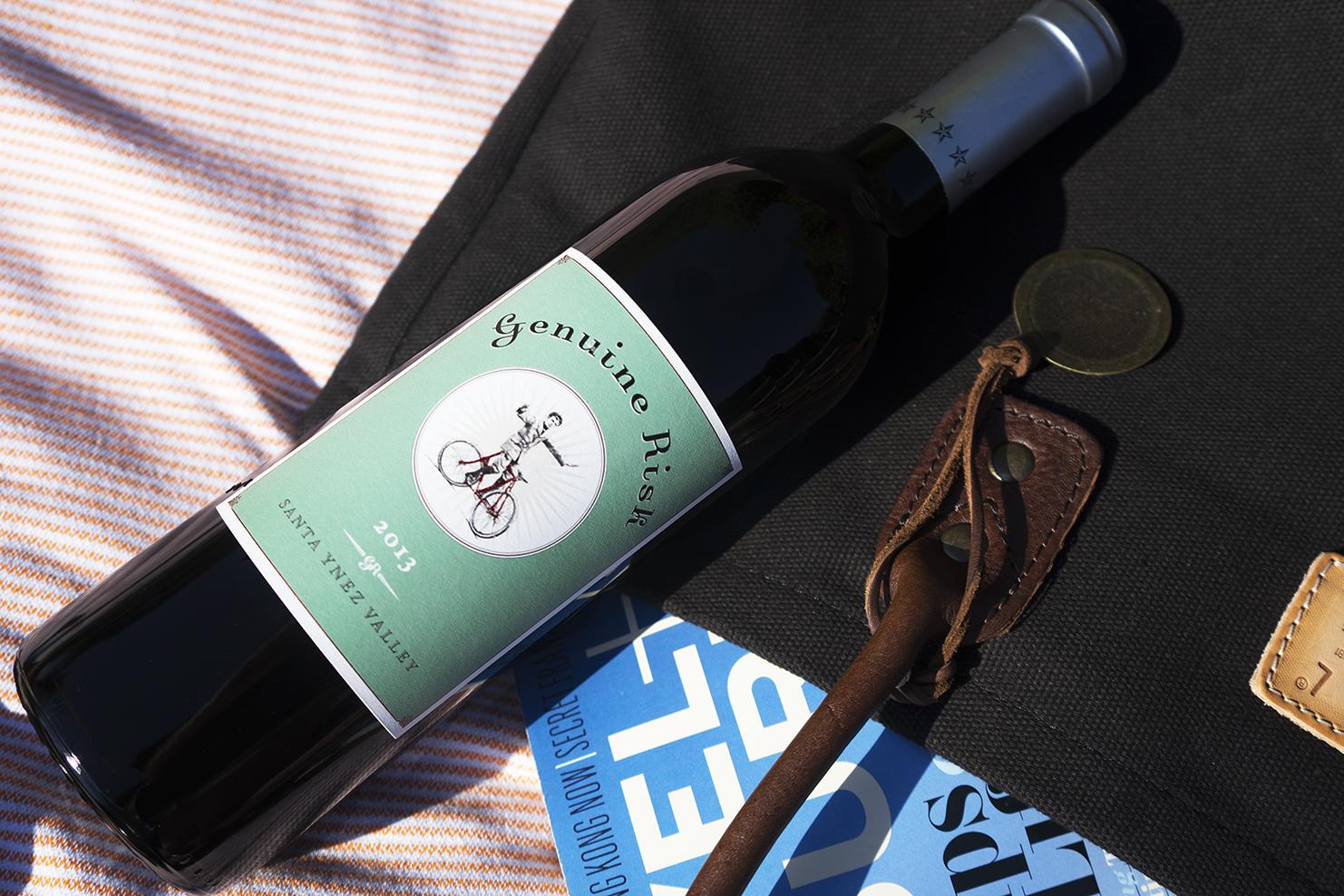 Genuine Risk Red Blend (76%Cabernet Sauvignon, 13% Petit Verdot, 7% Cabernet Franc,4% Merlot), 2013, $22.99